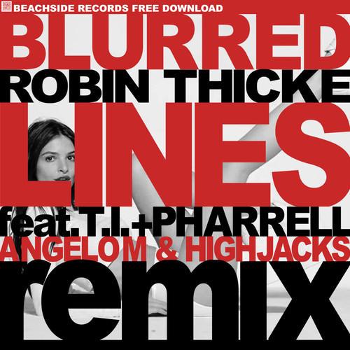 Видеоклип: robin thicke ft t. I. & pharrell-blurred lines 1080p hd.